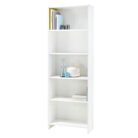 witte boekenkast boekenkast lars wit 171x60x24 cm boekenkasten kasten