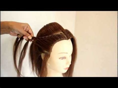 Wedding Hairstyles By Esther Kinder by Indian Bridal Hairstyle By Estherkinder