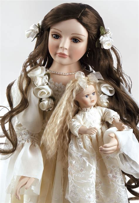 2 inch porcelain doll porcelain doll annabella heirloom doll 25