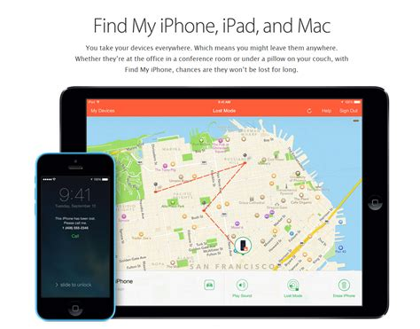 find my iphone for android track your lost or stolen android or ios devices windows phone and pc mac linux