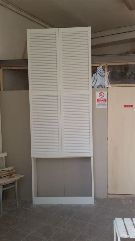 armadi con ante a persiana foto armadio copri caloriferi con ante tedesche a
