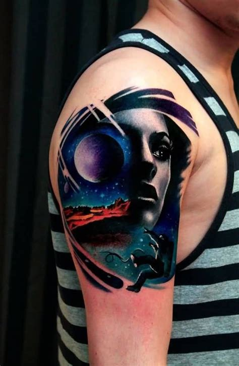 star tattoos on face 41 best galaxy tattoos images on