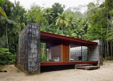 small modern cabins gallery casa rio bonito a modern cabin in the brazilian