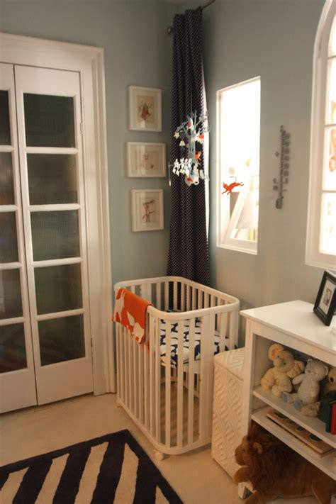 Small Cribs For Small Rooms williamsburg a nursery for a