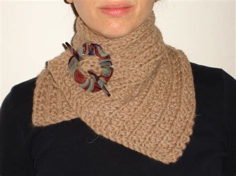 knitted neck warmer simple neck warmer by cranky knitter knitting pattern