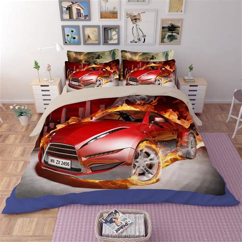 queen size car bed cool race car sports car bedding set twin queen king size