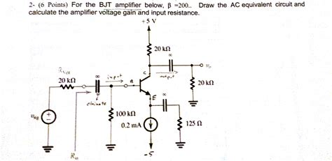 transistor lifier equivalent circuit electrical engineering archive june 23 2015 chegg