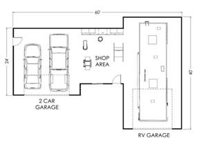 Garage Homes Floor Plans garage shop floor plans