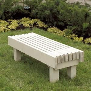 construire un banc de jardin plans de construction rona