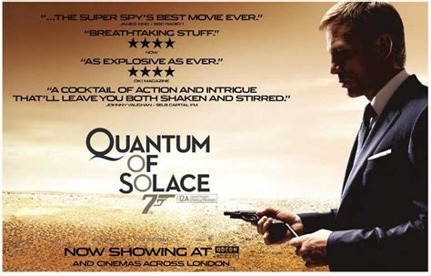 film after quantum of solace quantum of solace two clips and new quad poster filmofilia