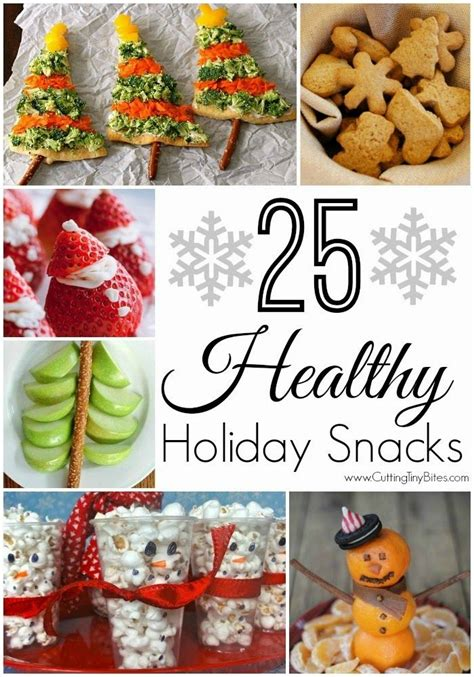 25 healthy holiday snacks vegetables holiday treats and