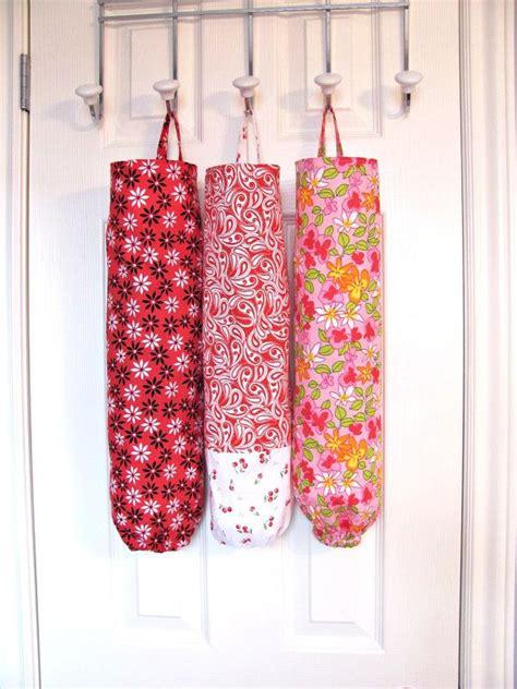 bag dispenser plastic bag holder paisley fabric grocery bag holder bag dispenser reuse recycle