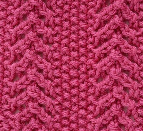 knit moss stitch lace moss stitch knit crochet sew