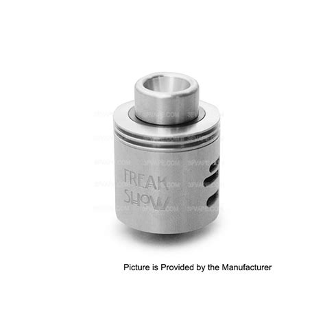 The Troll V2 25mm Rda Atomizer Silver Authentic Sku02039 authentic wotofo freakshow rda v2 silver 25mm rebuildable atomizer