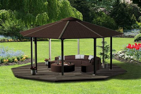 Patio Gazebo Plans Diy Gazebo Plans And Design For Best Outdoor Lounge Homescorner