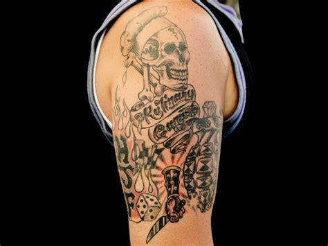 guy fieri tattoo 4 chefs food tattoos recipes dinners and easy meal