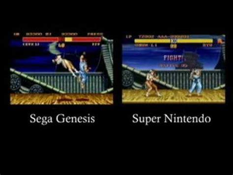 sega is better than nintendo console wars snes vs genesis