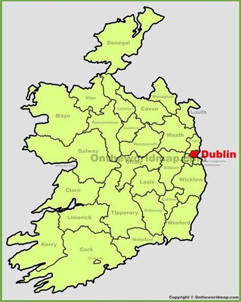 popular 197 list dublin map