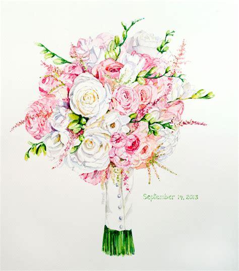 Wedding Bouquets Ny by Martha Marlette Buffalo Ny Artist 187 Wedding Bouquet