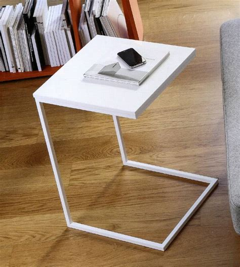 Doimo Basic Slim Side Table   End Table   Living Room Furniture   Metal homefrenzy