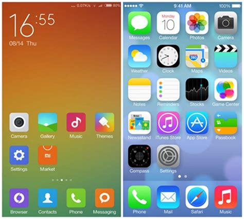 Miui App Drawer by Miui 6 L Android Cinese Che Somiglia A Ios 7 Fastweb