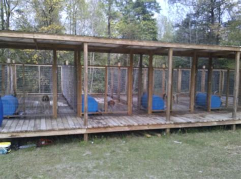 homemade outdoor dog kennels ideas for the house ukc forums more above ground kennel pics please kennel