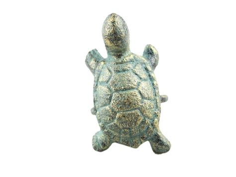 buy antique bronze cast iron turtle napkin ring 3 inch