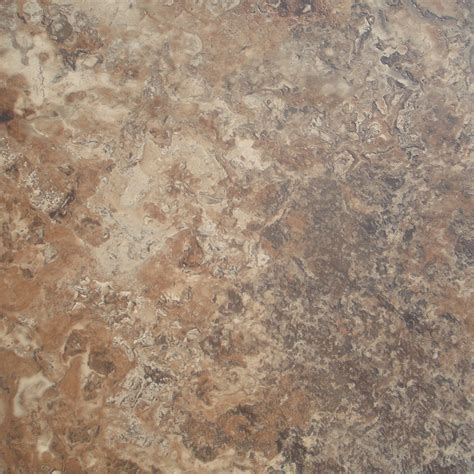 shop stainmaster brown peel and stick vinyl tile at lowes