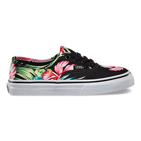 Vans Skool Aloha Flower Motif hawaiian floral authentic shop shoes at vans