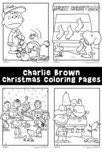 charlie brown christmas coloring pages woo jr kids activities