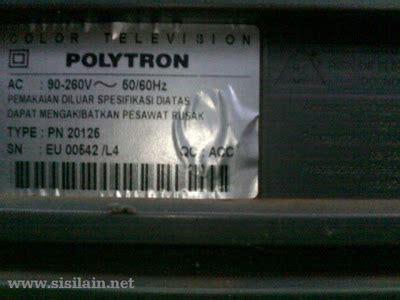 Tv Tuner Polytron repair televisi polytron 21 inch rusak tuner sisilain net