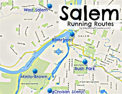 map of downtown salem oregon 5 favorite places to run or walk in salem oregon