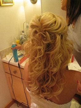 at what age is a grown to hair curled for competition this is a more grown up curly