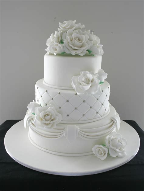 Wedding Cake 3 Tier by Three Tier Wedding Cake Cakecentral