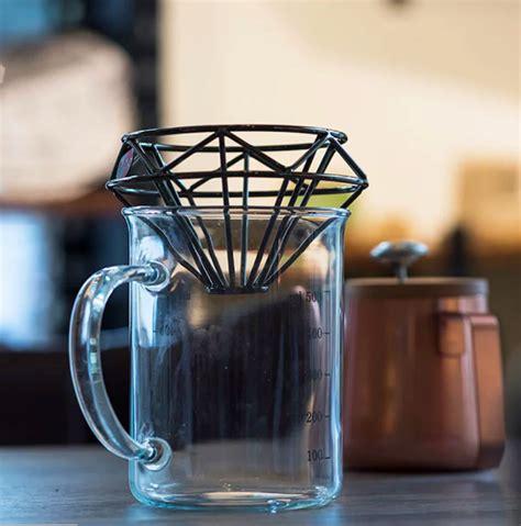 coffee dripper stainless  stylish majalah otten coffee