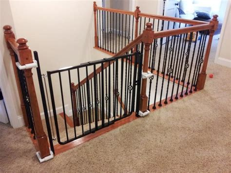 baby gate banister baby gates for stairs for baby safety