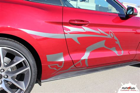 mustang stripes and decals steed 2015 2016 2017 ford mustang pony stripes