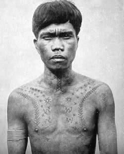 ifugao tattoo designs ifugao with chaklag ca 1900 most ifugao warriors