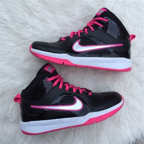 top youth basketball shoes 50 nike other youth nike black pink basketball