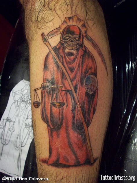 santa muerte tattoo tattoos and designs page 50