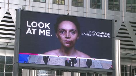domestic violence billboard dares people not to look away domestic violence billboard dares people not to look away