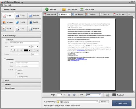 format converter doc to pdf avs4you gt gt avs document converter gt gt converting documents
