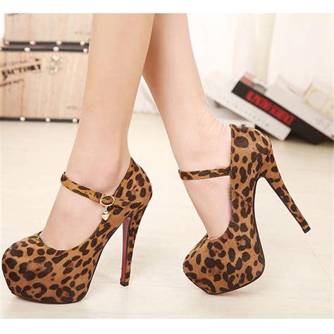 leopard print high heel leopard print high heels fs heel