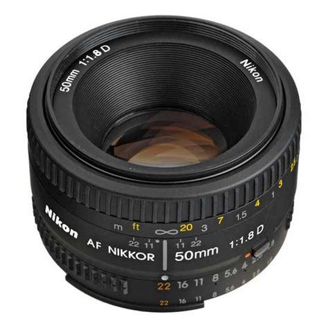 Nikon Lensa 50mm F 1 8 D nikon af 50mm f 1 8d harga dan spesifikasi