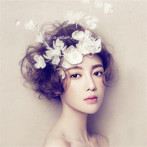 vintage wedding flowers in hair luxury thick lace flower hair accessories wedding