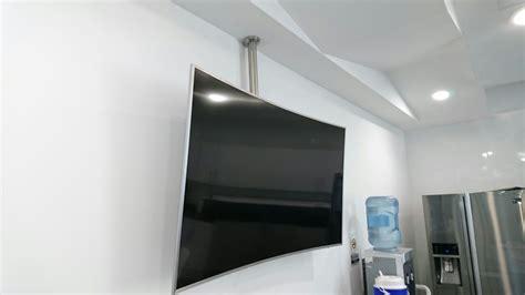 soportes para tv de techo soporte techo para tv en acero inoxidable base techo