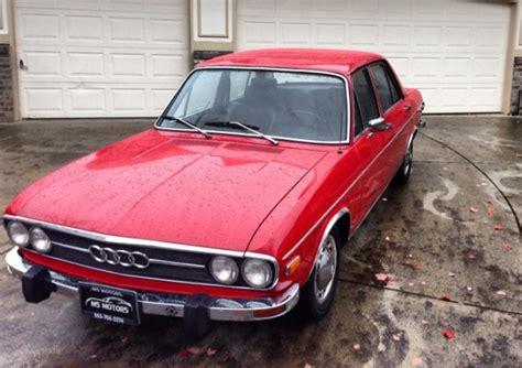 Audi Ls 100 by 1972 Audi 100 Ls Bring A Trailer