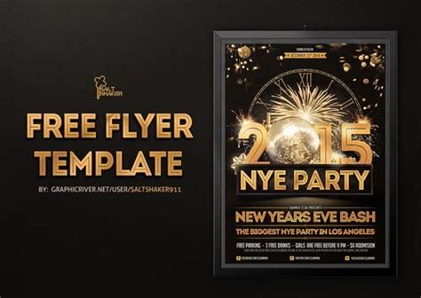 new year templates free top 30 new year flyer templates psd flyer for