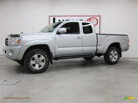 2006 Toyota Tacoma Trd 2006 Toyota Tacoma V6 Trd Sport Access Cab 4x4 In Silver
