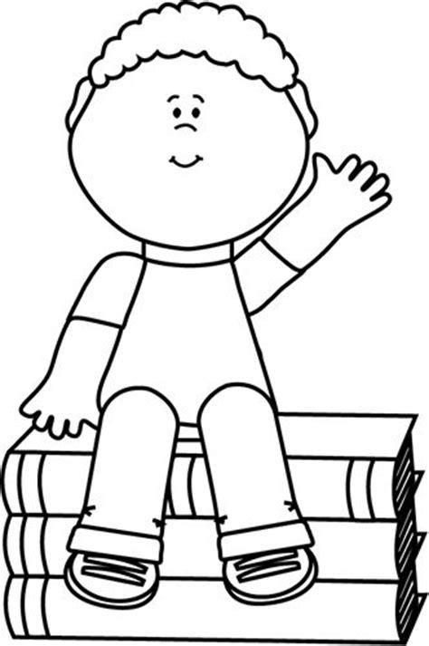 boy waving coloring page 1454 best images about desenhos para colorir on pinterest